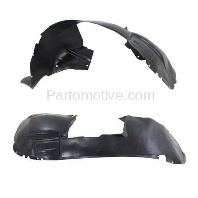 Aftermarket Replacement - IFD-1178L & IFD-1178R 01-03 Town & Country, Voyager Front Inner Fender Liner Panel Left Right SET PAIR