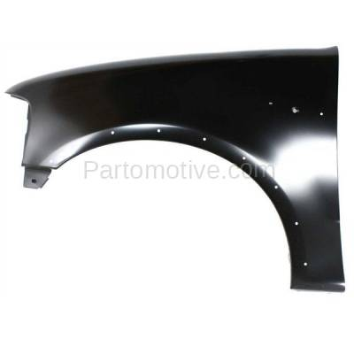 Aftermarket Replacement - FDR-1294LC 1997-2002 Ford Expedition & 1997-2003 F150/F250 & 2004 F150 Heritage Pickup Truck Front Fender (with Molding Holes) Left Driver Side
