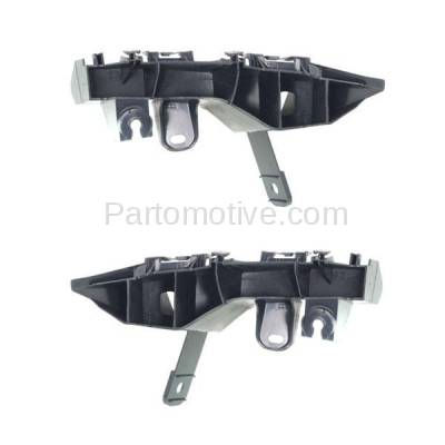 Aftermarket Replacement - BRT-1074RL & BRT-1074RR 2014-2018 Lexus IS200t, IS250, IS300, IS350 Rear Bumper Cover Upper Retainer Mounting Brace Support Bracket PAIR SET Right & Left Side