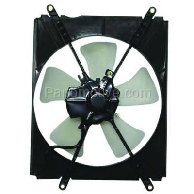 TYC - FMA-1459TY TYC 92 93 94 95 96 Camry 2.2L L4 A/C Condenser Cooling Fan Motor Assy w/ Shroud
