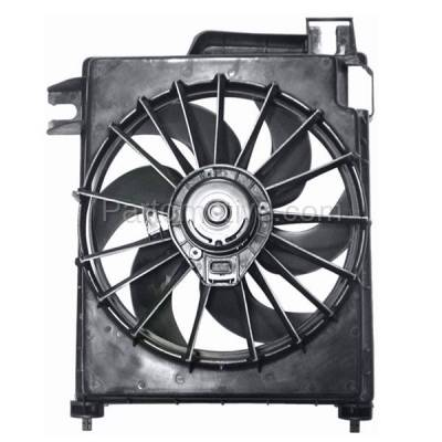 TYC - FMA-1509TY TYC Dodge Pickup Truck 1500/2500/3500/4000 A/C Condenser Cooling Fan Motor Assy