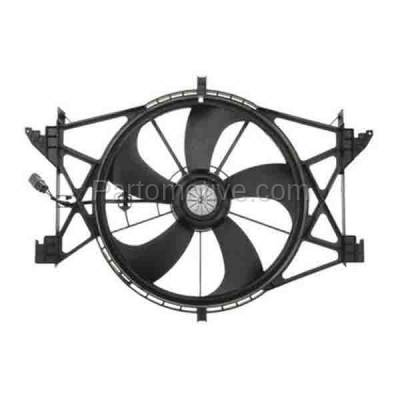 TYC - FMA-1511TY TYC Ram Pickup (Exclude Megacab) Radiator A/C Condenser Cooling Fan Motor Assy