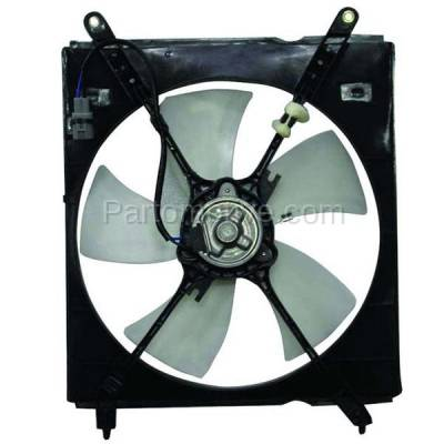 TYC - FMA-1447TY TYC 00-01 Camry 2.2L L4 Radiator Engine Cooling Fan Motor Assy W/ Blade & Shroud