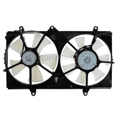 TYC - FMA-1472TY TYC 98 99 00 01 02 Corolla Dual Radiator AC A/C Condenser Cooling Fan Motor Assy
