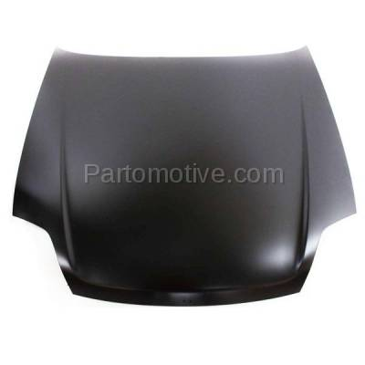 Aftermarket Replacement - HDD-1342 1997-2001 Honda Prelude (Base, Type SH) Coupe 2-Door (2.2 Liter Engine) Front Hood Panel Assembly Primed Steel