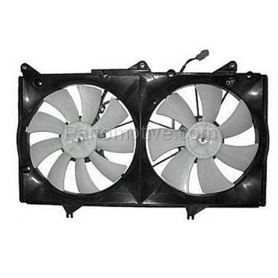 TYC - FMA-1328TY TYC 04 05 06 Lexus ES-330 Radiator A/C Condenser Cooling Fan Motor Assy