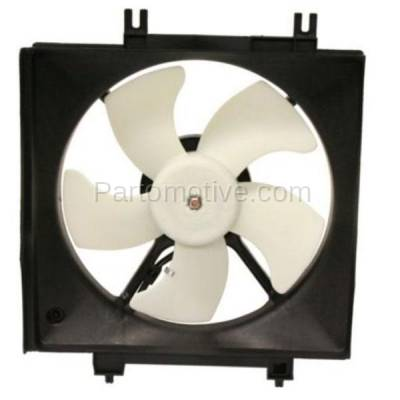 TYC - FMA-1430TY TYC 08-11 Impreza 09-13 Forester Non-Turbo A/C Condenser Cooling Fan Motor Assy