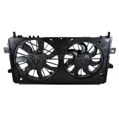 TYC - FMA-1507TY TYC Grand Prix & Monte Carlo Dual Radiator A/C Condenser Cooling Fan Motor Assy