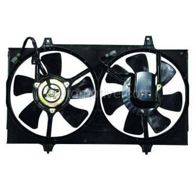 TYC - FMA-1395TY TYC Dual Radiator AC Condenser Cooling Fan Motor Assy For 98-01 Altima Auto-Tran