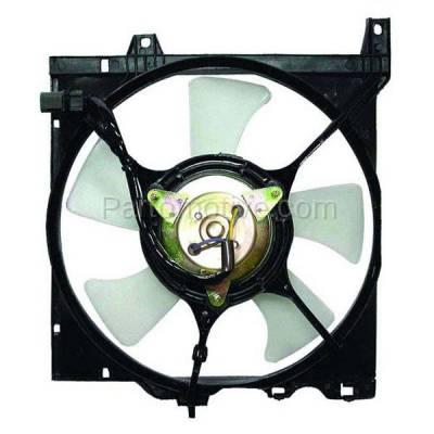 TYC - FMA-1382TY TYC 91 92 93 94 Sentra 1.6L (Auto Trans.) Radiator Engine Cooling Fan Motor Assy