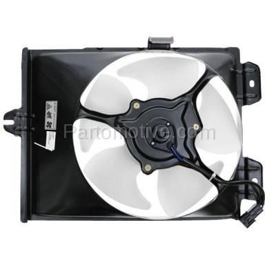 TYC - FMA-1349TY TYC 97 98 99 00 01 02 Mirage A/C Condenser Cooling Fan Motor Assy Blade & Shroud
