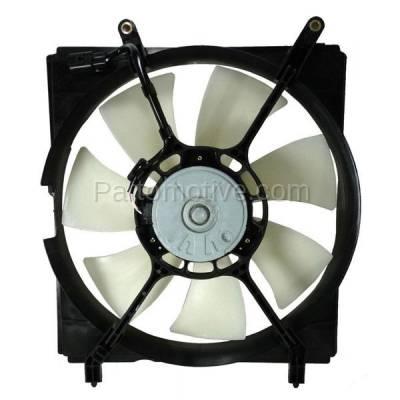 TYC - FMA-1458TY TYC 99-01 ES300 Camry & 00-03 Solara 3.0L Radiator Engine Cooling Fan Motor Assy