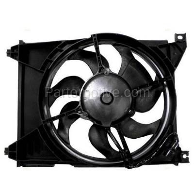 TYC - FMA-1241TY TYC 99-05 Sonata XG350 01-06 Magentis Optima AC Condenser Cooling Fan Motor Assy