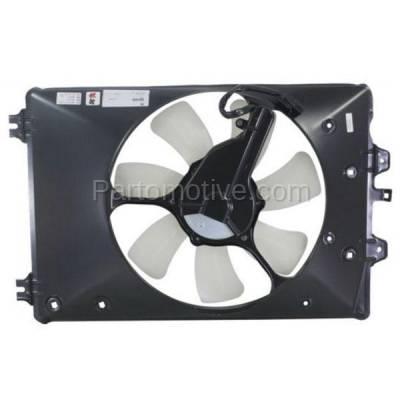 TYC - FMA-1221TY TYC 09 10 11 12 Ridgeline Pilot 3.5L A/C Condenser Cooling Fan Motor Assy Shroud