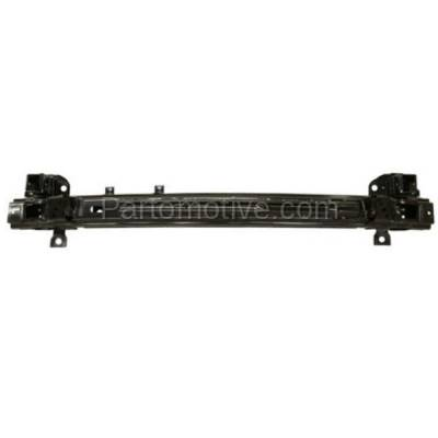 Aftermarket Replacement - BRF-1444FC 2007-2009 Hyundai Santa Fe (2.7 & 3.3 Liter V6) (Sport Utility 4-Door) Front Bumper Impact Face Bar Crossmember Reinforcement Primed Steel