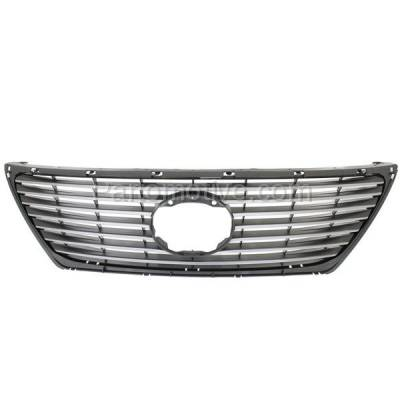 Aftermarket Replacement - GRL-2035C CAPA 07-09 LS-Series Front Grill Grille w/Pre-Collision LX1200132 5311250130