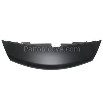 Aftermarket Replacement - GRL-2300C CAPA Front Upper Nose Panel Grill Grille Cover NI1201100 Fits 14-15 Versa