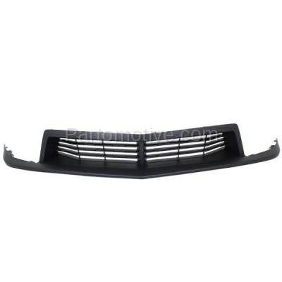 Aftermarket Replacement - GRL-1545C CAPA 12-15 Camaro ZL1 Front Grill Grille Textured Black GM1036141 22894223