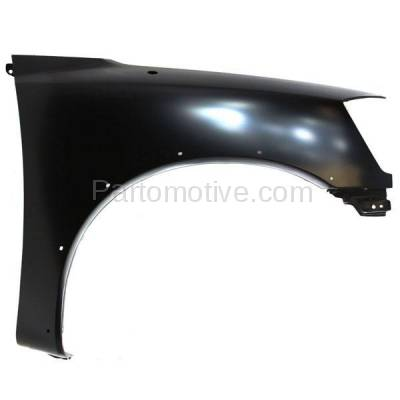 Aftermarket Replacement - FDR-1758R Front Fender Quarter Panel Passenger Side For 05-15 Titan NI1241192 F3100ZR0EA