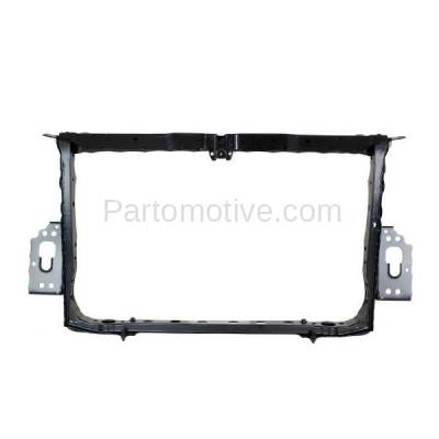 Aftermarket Replacement - RSP-1785 2006-2012 Toyota RAV4 (Base, Limited, Sport) (2.4 & 2.5 & 3.5 Liter Engine) Front Center Radiator Support Core Assembly Primed Plastic