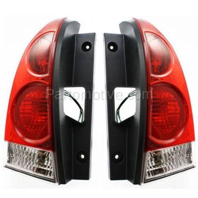 Aftermarket Auto Parts - TLT-1212LC & TLT-1212RC CAPA 07-09 Quest Taillight Taillamp Rear Brake Light Lamp Right & Left Set PAIR