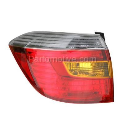 Aftermarket Auto Parts - TLT-1423LC CAPA 08-10 Highlander Sport Taillight Taillamp Rear Brake Light Lamp Driver Side