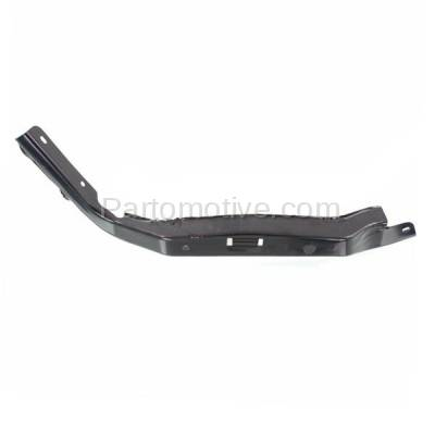 Aftermarket Replacement - BBK-1582L 2006-2009 Toyota 4Runner Front Bumper Cover Face Bar Retainer Mounting Brace Reinforcement Bracket Made of Steel Left Driver Side