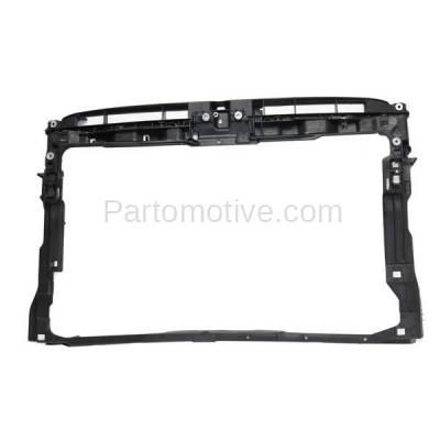 Aftermarket Replacement - RSP-1839 2015-2018 Volkswagen Golf & Golf Alltrack & Golf SportWagen & GTI (Hatchback & Wagon) Front Radiator Support Assembly Plastic