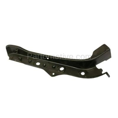 Aftermarket Replacement - RSP-1646L 2007-2012 Nissan Versa (Hatchback & Sedan) Front Radiator Support Outer Upper Tie Bar Panel Primed Made of Steel Left Driver Side