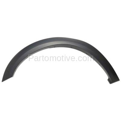 Aftermarket Replacement - FDF-1024R 10-17 Ram Truck Front Fender Flare Wheel Opening Molding Trim RH Passenger Side