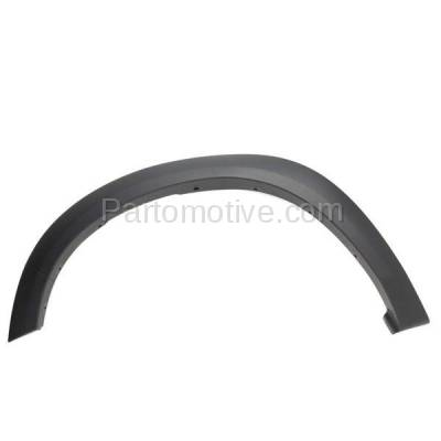 Aftermarket Replacement - FDF-1026L 09-10 RAM 1500 Front Fender Flare Wheel Opening Molding Trim LH Left Driver Side