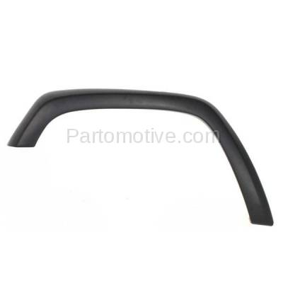 Aftermarket Replacement - FDF-1028L 97-01 Cherokee Front Fender Flare Wheel Opening Molding Trim LH Left Driver Side