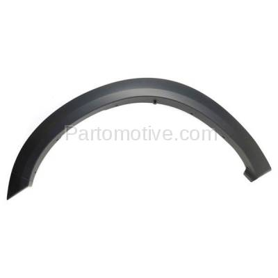 Aftermarket Replacement - FDF-1023L 11-16 Ram 2500/3500 Front Fender Flare Wheel Opening Molding Trim LH Driver Side