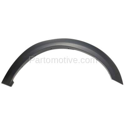 Aftermarket Replacement - FDF-1024L 10-17 Ram Truck Front Fender Flare Wheel Opening Molding Trim Left Driver Side