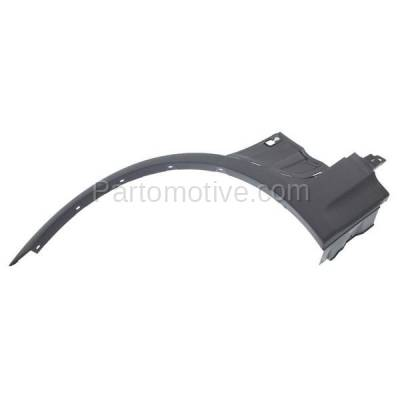 Aftermarket Replacement - FDF-1008L 04-06 X5 Front Fender Flare Wheel Opening Molding Trim Arch Left Driver Side NEW