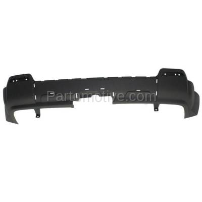 Aftermarket Replacement - BUC-2132RC CAPA 10-15 Terrain Rear Lower Bumper Cover Valance w/o Chrome Pkge GM1195116