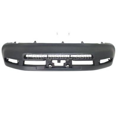 Aftermarket Replacement - BUC-3182FC CAPA 96-97 RAV-4 Front Bumper Cover w/o Extension Holes TO1000183 5211942996