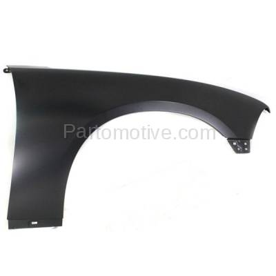 Aftermarket Replacement - FDR-1139RC CAPA 2011-2014 Dodge Charger (Sedan 4-Door) Front Fender Quarter Panel (without Molding Holes) Primed Steel Right Passenger Side