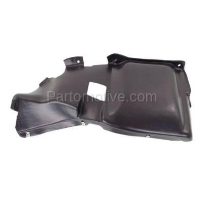 Aftermarket Replacement - ESS-1651L 03-05 Beetle Convertible Front Engine Splash Shield Under Cover Left Driver Side