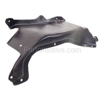 Aftermarket Replacement - ESS-1653R 98-06 Beetle Front Engine Splash Shield Under Cover Guard Right Side VW1228125