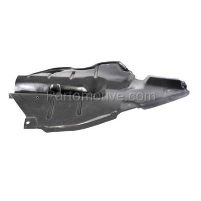 Aftermarket Replacement - ESS-1614R 2009-2016 Toyota Venza (AWD, Base. LE, Limited, V6, XLE) Front (Front Section) Engine Under Cover Splash Shield Plastic Right Passenger Side