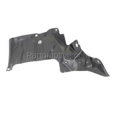 Aftermarket Replacement - ESS-1579L 01-05 RAV4 Engine Splash Shield Under Cover w/Auto Trans. Driver Side TO1228124