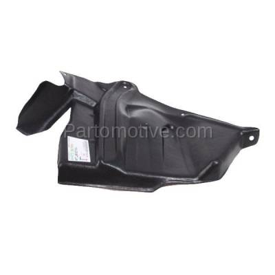 Aftermarket Replacement - ESS-1545R Front Engine Splash Shield Under Cover For 93-01 Altima Passenger Side NI1251137