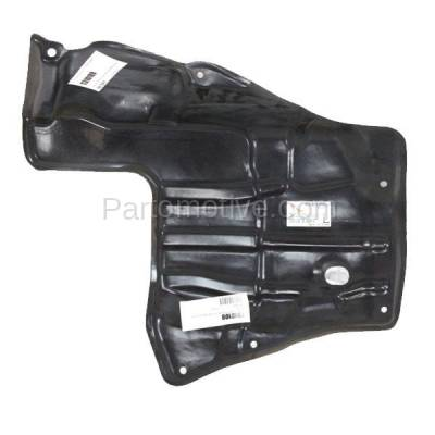 Aftermarket Replacement - ESS-1582L 88-92 Corolla Front Engine Splash Shield Under Cover w/Manual Trans Driver Side