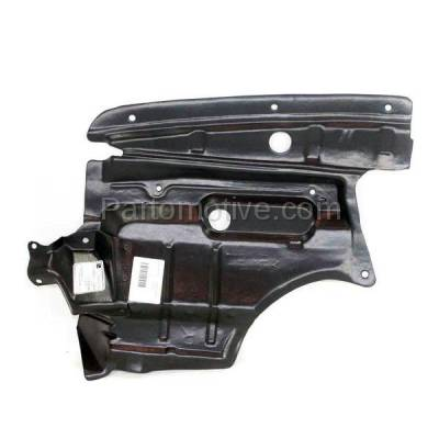 Aftermarket Replacement - ESS-1532R Front Engine Splash Shield Under Cover Fits 00-01 Maxima Right Side 758962Y000
