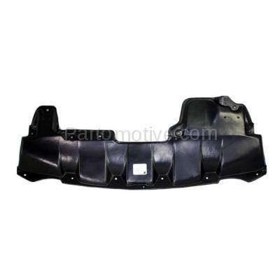 Aftermarket Replacement - ESS-1530 Front Engine Splash Shield Under Cover Fits 09-14 Murano V6 NI1228131 758921AA0A