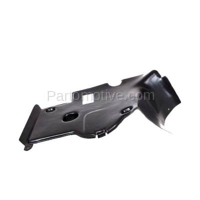 Aftermarket Replacement - ESS-1471R 92-99 S-Class Rear Engine Splash Shield Under Cover Guard Right Side 1405240330