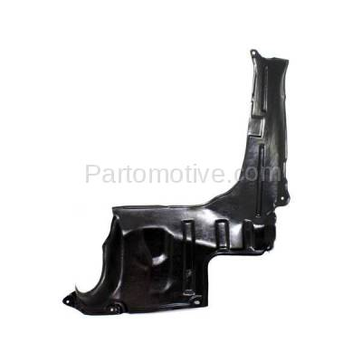 Aftermarket Replacement - ESS-1420R 02-06 MPV Engine Splash Shield Under Cover RH Passenger Side MA1251108 LD4756321
