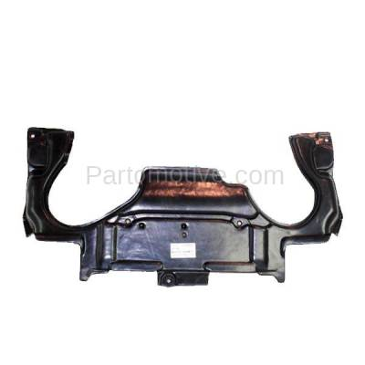 Aftermarket Replacement - ESS-1464 03-07 C-Class Rear Engine Splash Shield Under Cover Guard MB1228124 2035243930