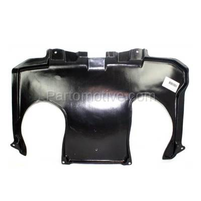Aftermarket Replacement - ESS-1468 00-06 S-Class Rear Engine Splash Shield Under Cover Guard MB1228117 2205246330